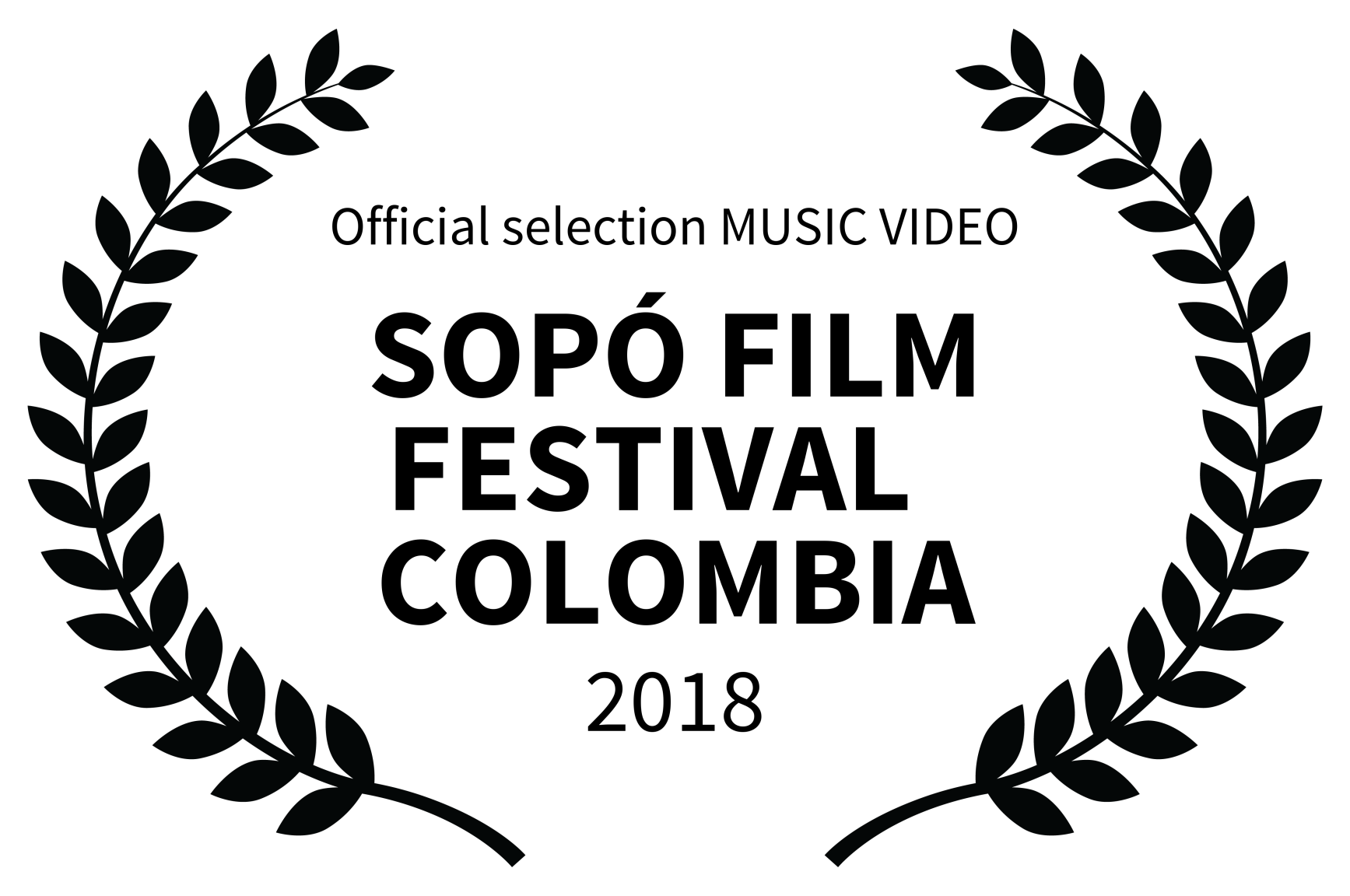 Fear Film riberaigua director Official selection MUSIC VIDEO – SOP FILM FESTIVAL COLOMBIA – 2018