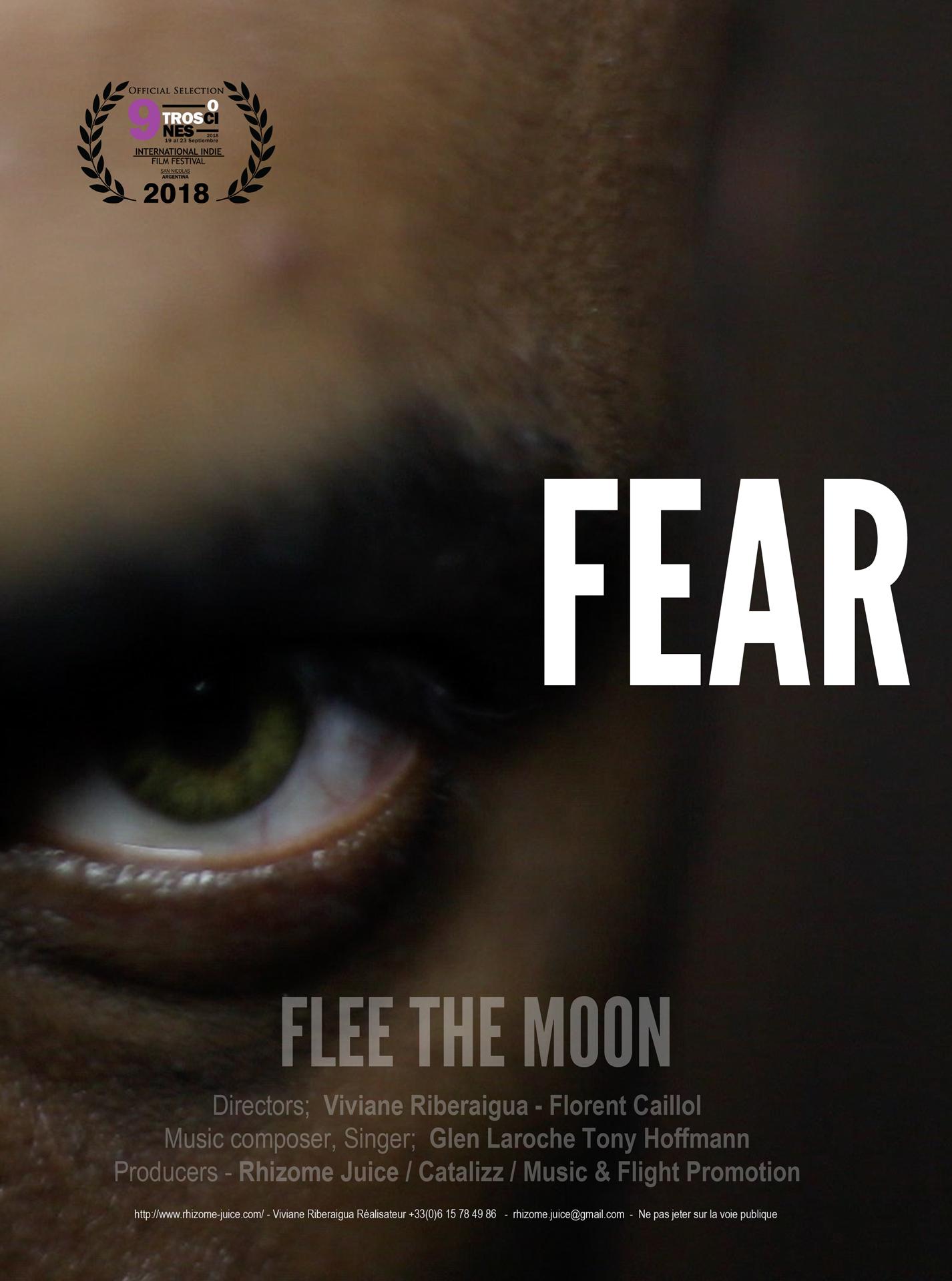 affiche de film fear