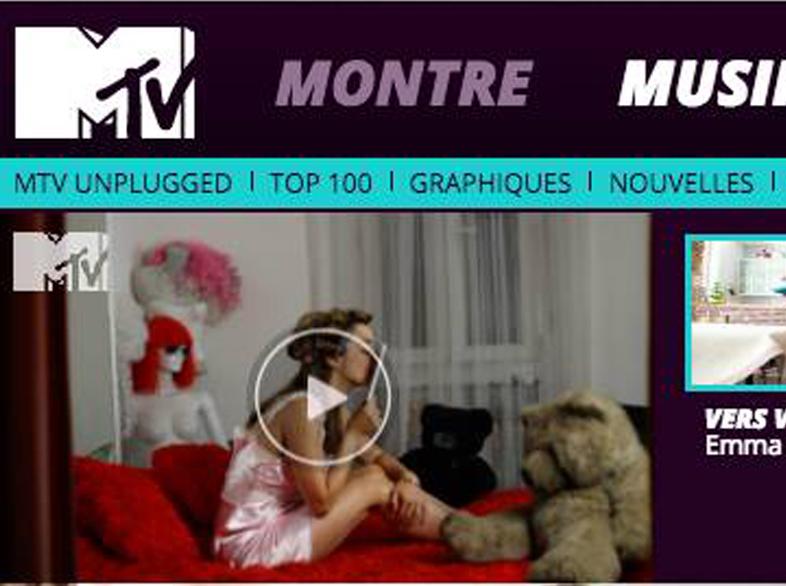 MTV - clip de musique - réalisateur de clip en animation - Viens vers moi