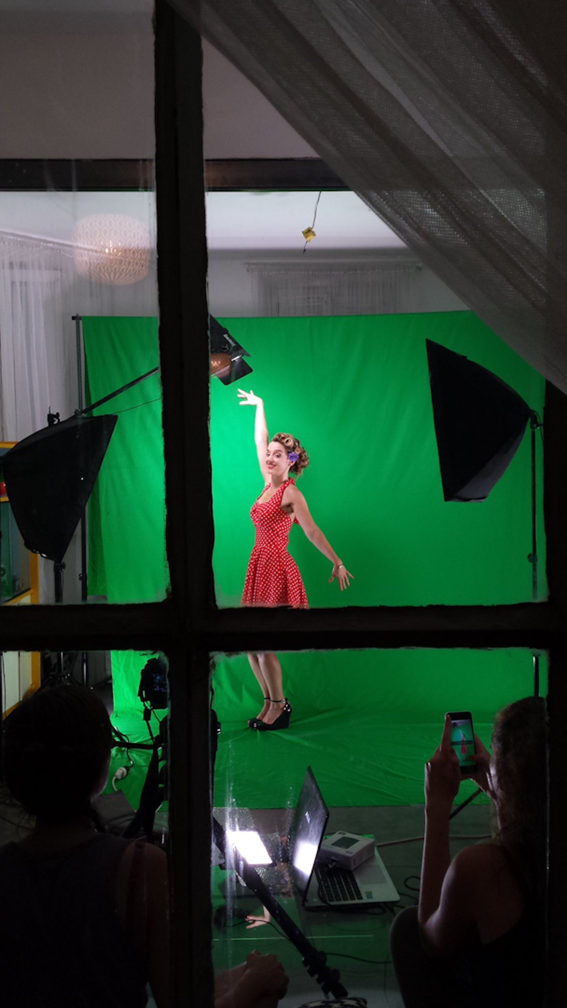making-of-tournage-fond-vert-clip-musique