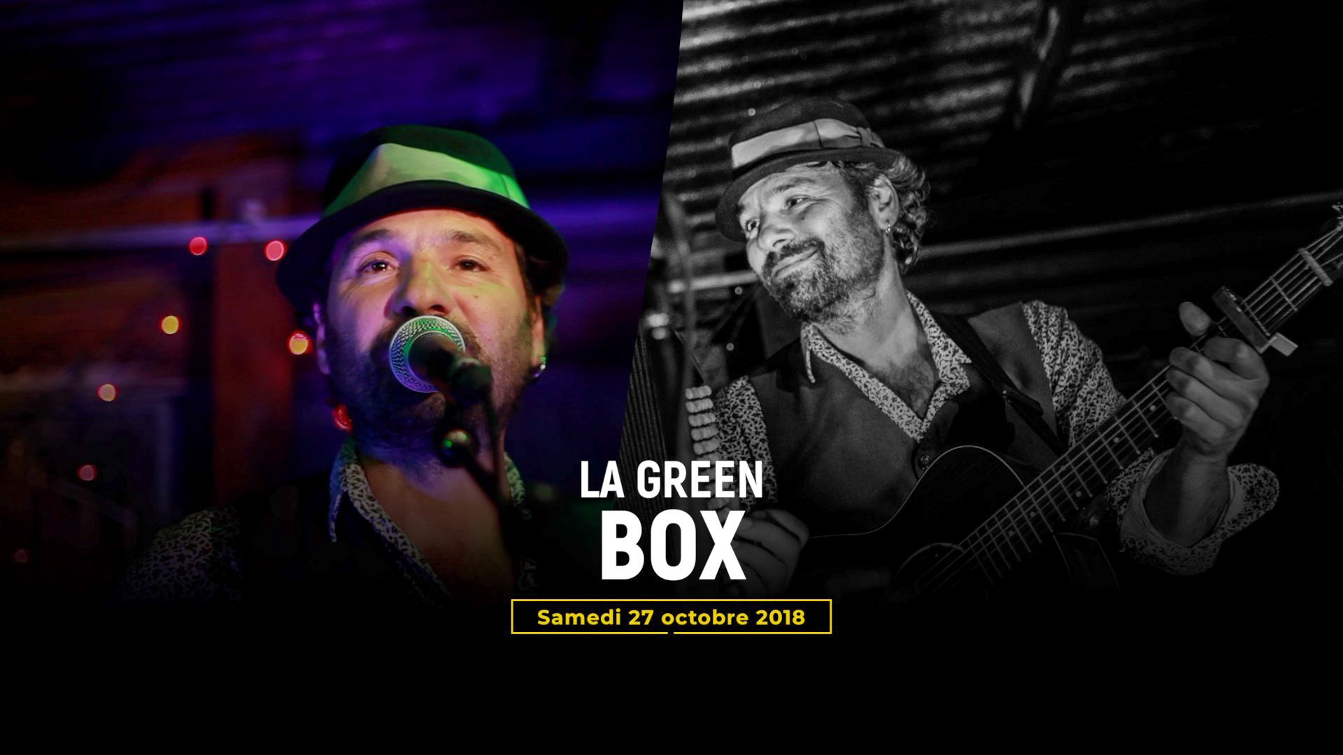Captation de concert -Green Box-Florent Vintigner et Pierrot