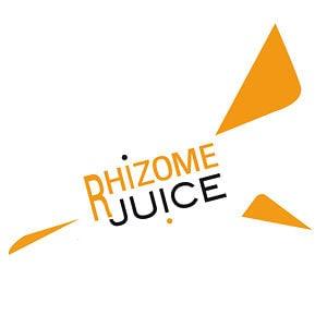 Logo rhizome juice – producteur audiovisuel
